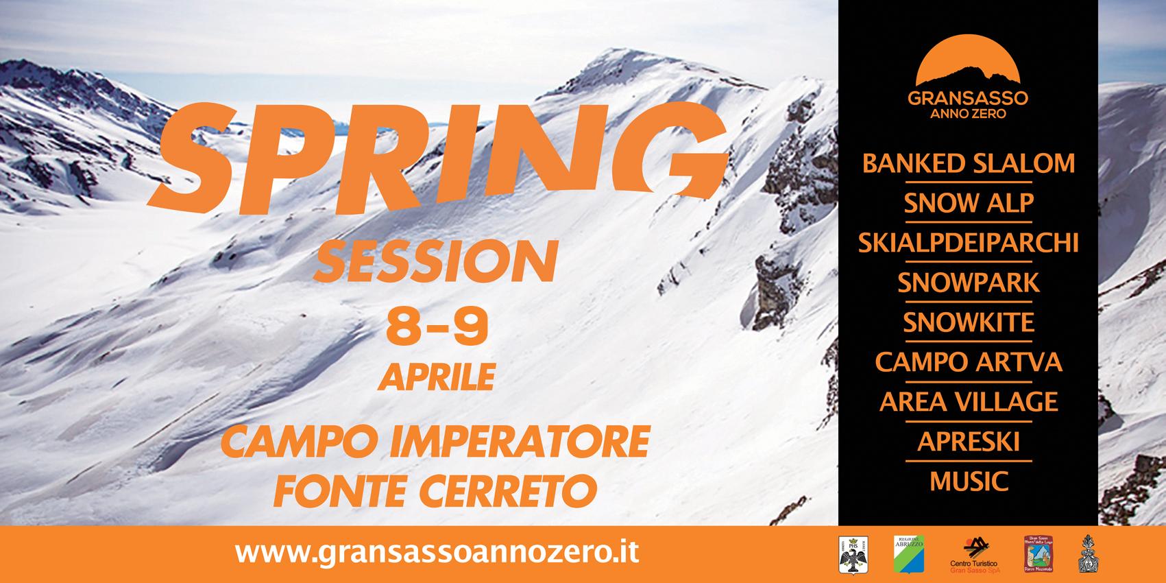 Spring Session – Gran Sasso d'Italia 08-09.04.2017